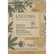 Festes Pflege Shampoo Hanf & Holunder 60g