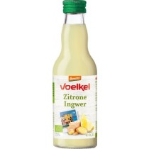 Zitrone Ingwer Saft 0,2Ltr
