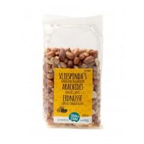 Erdnüsse, geröstet mit Salz und Vlies 250g
