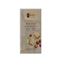 White Nougat Crisp Rice Choc 80g