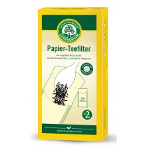 Papier - Teefilter Gr. 2 ungebleicht 100st