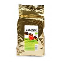 Espresso, ganze Bohne 1kg GREEN