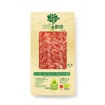 CosiBio Salami semi di finocchio mit Fenchel 80g