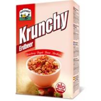 Krunchy Erdbeere 375g