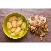 geschälte Kartoffeln 10kg, Di.-Fr., 3 Tage vorbestellen
