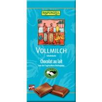 Vollmilch Schokolade 100g - Rapunzel -