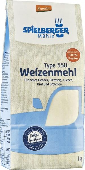 Weizenmehl Type 550 1kg (Demeter)