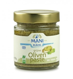 MANI Grüne Olivenpaste, bio, NL Fair