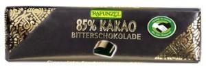 Bitterschokolade Täfelchen 85% 20g