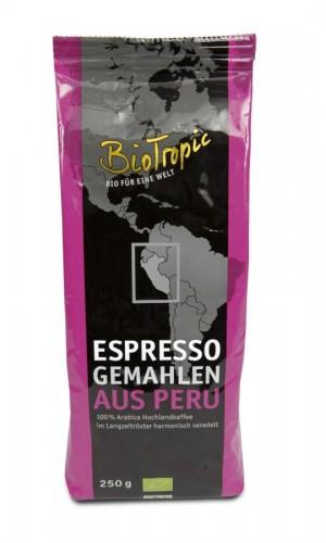 Espresso gemahlen 250g 100% Arabica