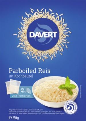 Parboiled Reis im Kochbeutel 6x250g