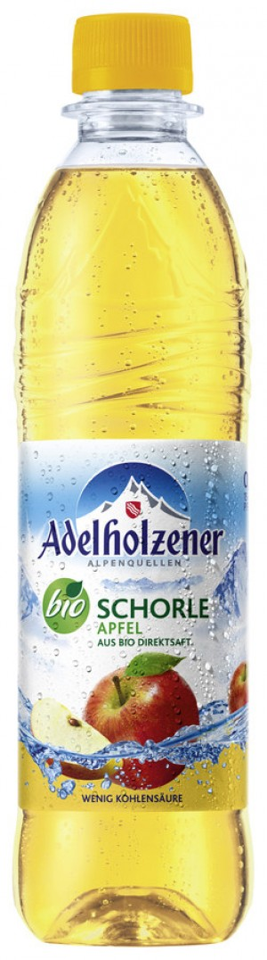 Adelholzener Apfel Schorle 0,5Ltr