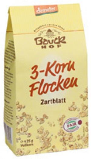 3 - Kornflocken, Zartblatt 8x425g