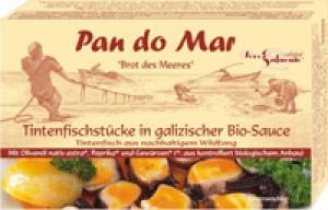Tintenfischstücke galizischer Art 120g  in galizischer Bio-Sauce