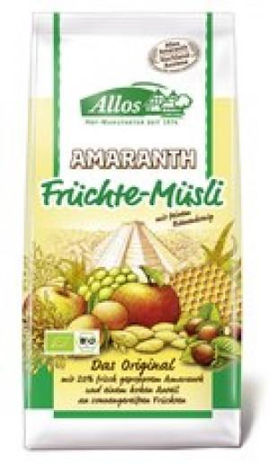 Amaranth Früchte Müsli 12x375g