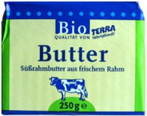 Butter Süßrahm Terra 250g