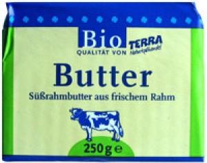 Butter Süßrahm Terra 16x250g