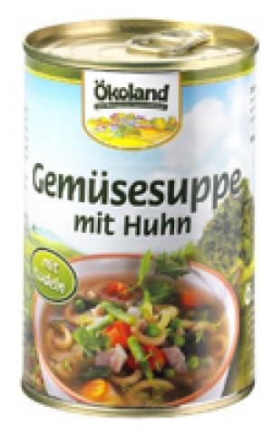 Gemüsetopf (mit Geflügel) 400ml  Dose