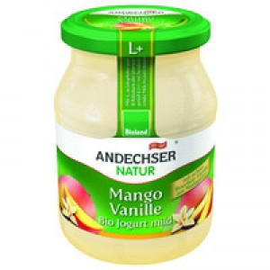 Joghurt Mango Vanille 500g