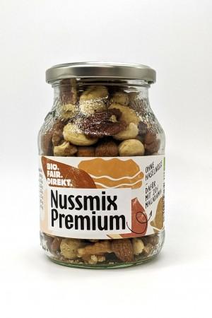 Nussmix Premium (ohne Haselnüsse) 275g Glas