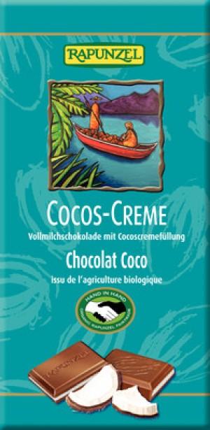 Cocos Creme Schokolade 100g