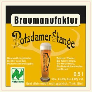 Braumanufaktur Potsdamer Stange, hell 8x0,5l