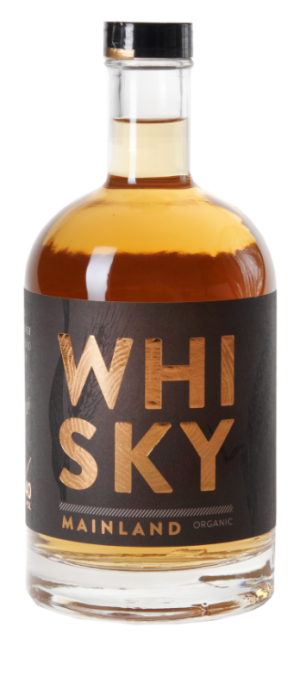The Mainland Organic Whisky 0,5Ltr